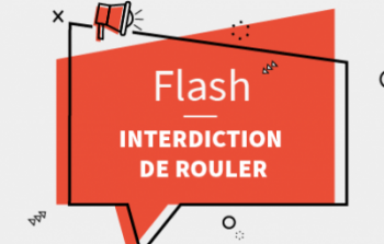 Flash interdiction de rouler-actu